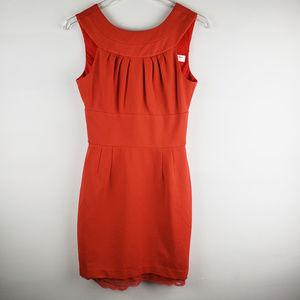 TRINA TURK Red Etiquette Shift Dress